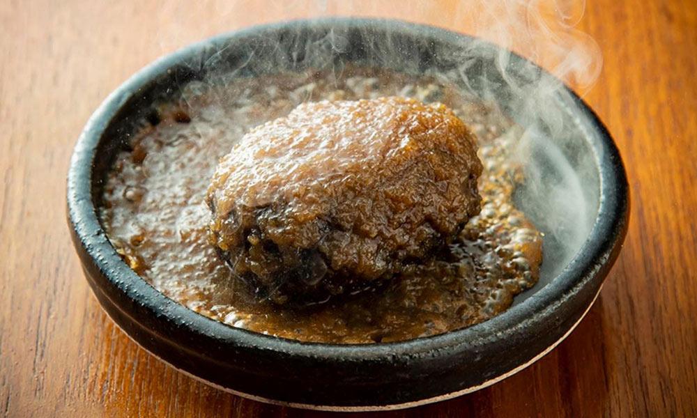 ハンバーグ柚子胡椒風味