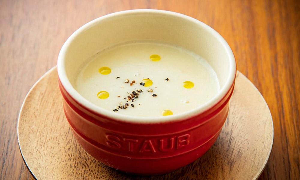 パースニップと新じゃがいものスープ