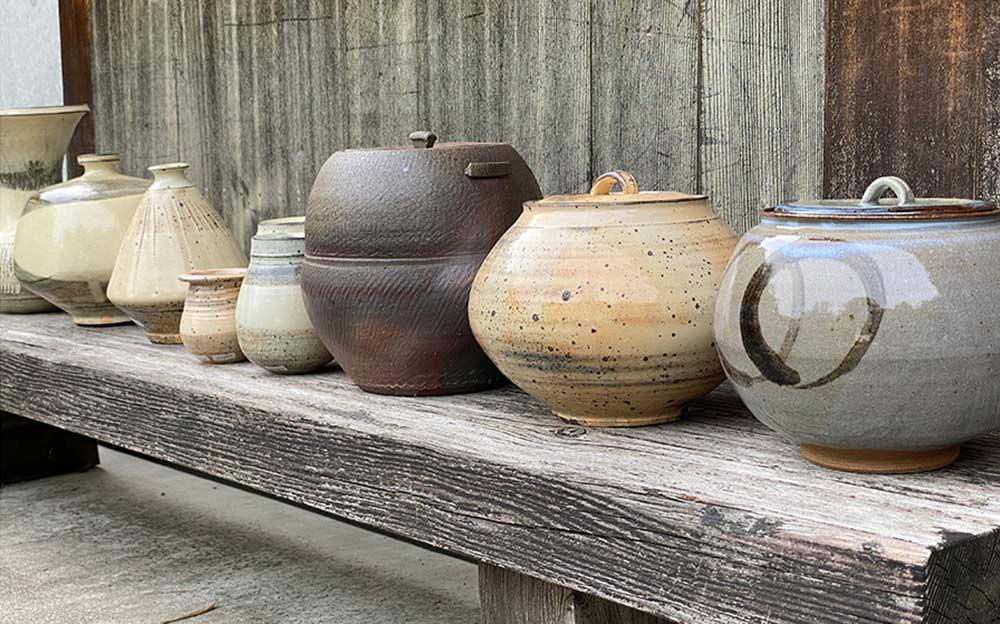 「隆太窯」の陶房③