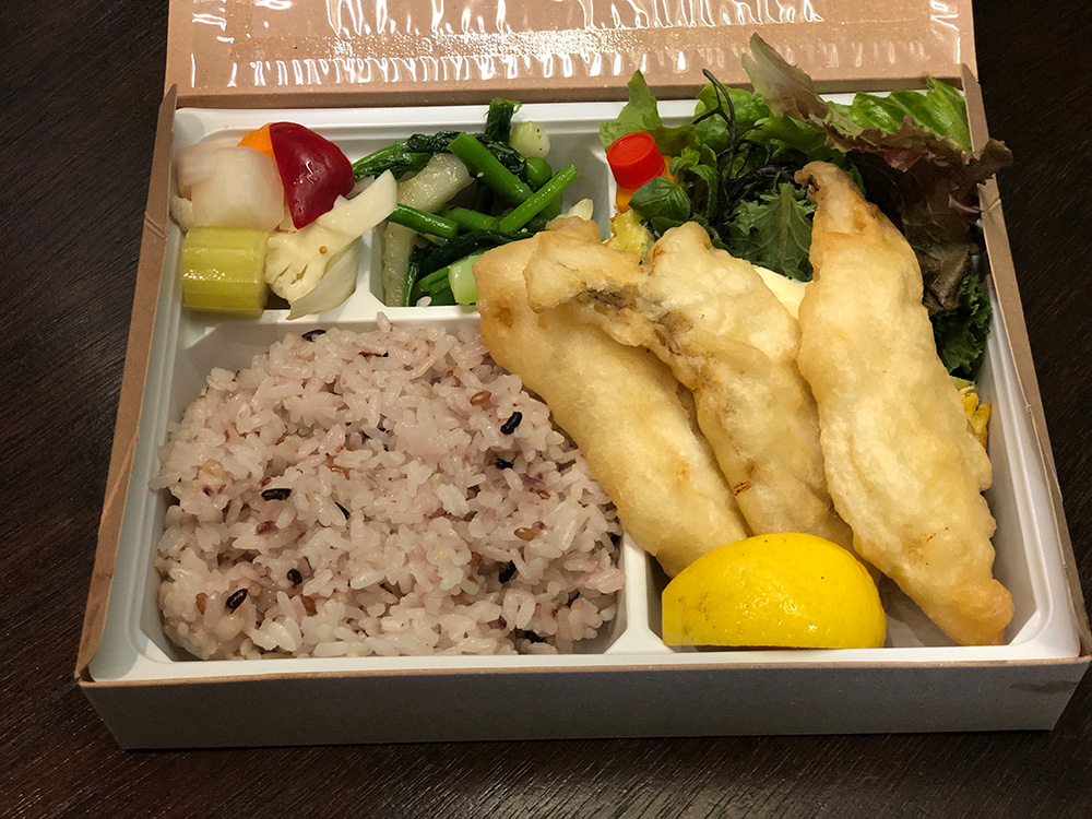 白身魚フリット弁当 1,000円