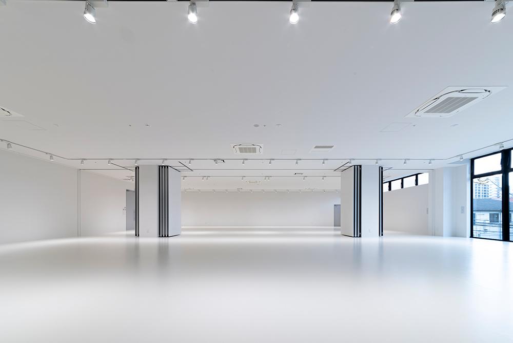 ホールエリア80坪スペースの写真