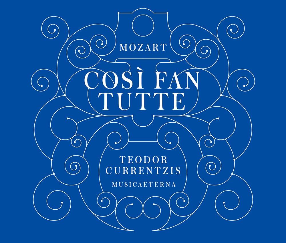 モーツァルト:歌劇「コジ・ファン・トゥッテ」のジャケット写真