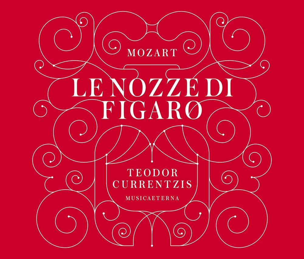 モーツァルト:歌劇「フィガロの結婚」のジャケット写真