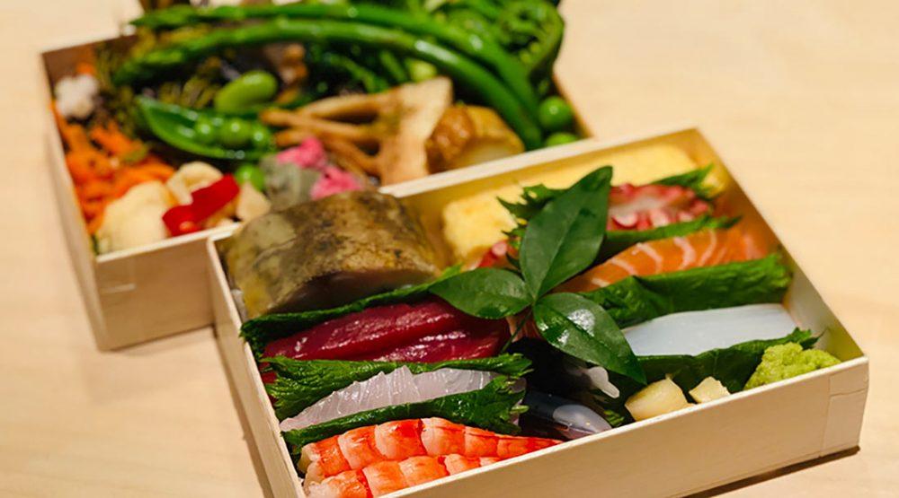 「鮨料理 一高」のお弁当