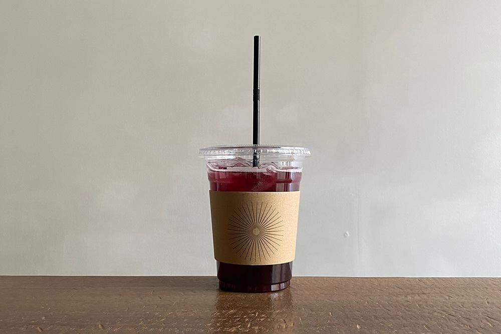 山ぶどう紅茶ソーダ