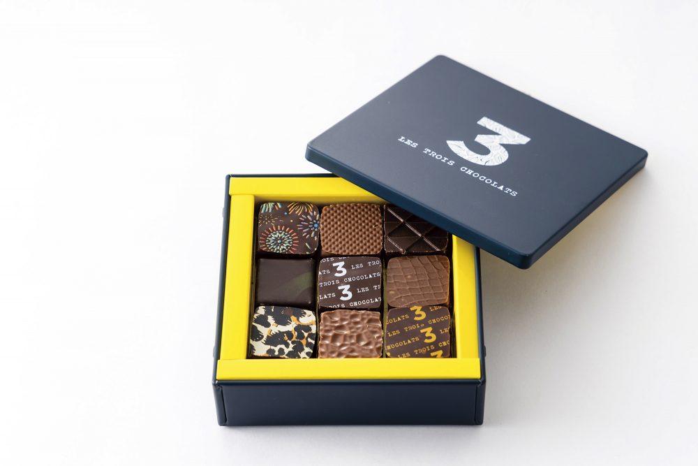 LES TROIS CHOCOLATS チョコレートショップ