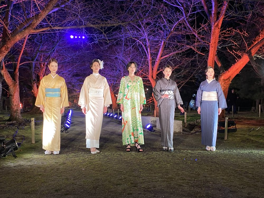 福岡城ファッションショー