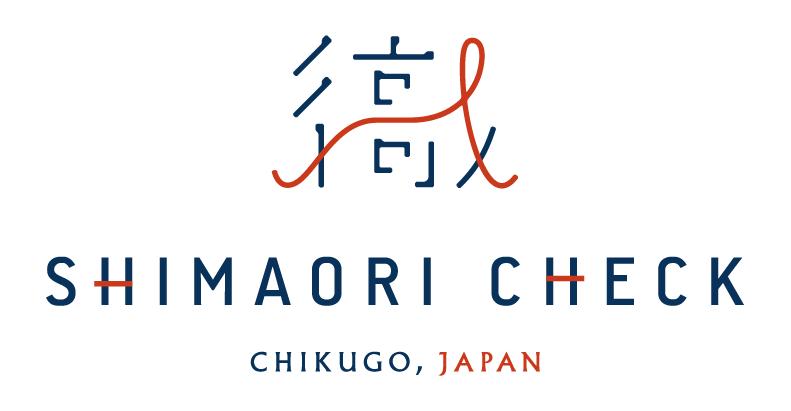 久留米縞織 チェック柄ブランド シマオリチェック ロゴ