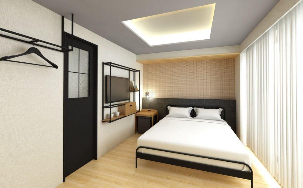 ランプライトブックスホテル福岡 本の世界を旅するホテル 客室